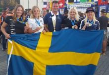 Amanda och Martin kammade hem Enduromedaljer när EM avgjordes i Polen.