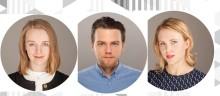 Vi välkomnar tre nya kolleger