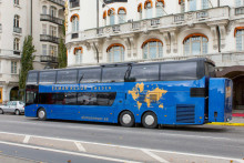 EkmanResor lanserar 1st Bussness Class – en specialbyggd exklusiv turistbuss