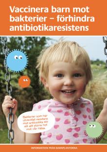 Informationsbroschyr om antibiotikaresistens