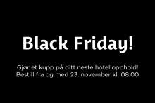 Black Friday på Best Western Hotels & Resorts