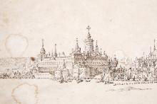 Unik teckning av Stockholm från 1600-talet doneras till Stockholms stadsmuseum