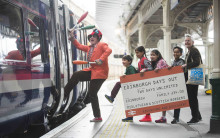 All aboard for weekend of fun at book festival