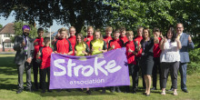 ​Local pupils take on cycling challenge for stroke charity