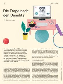 Betriebliche Krankenversicherung: Die Frage nach den Benefits