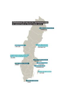 Sverigekarta över preventivmedelssubventioner