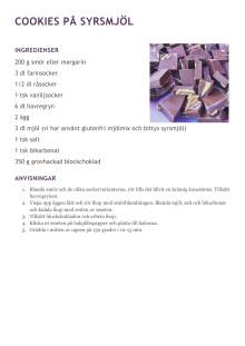 Recept på ätbara insekter