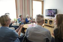 Digitala kulturmöten inom äldrevården