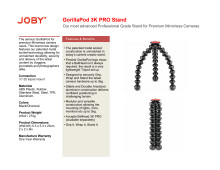Joby GorillaPod 3K Pro Stand datasheet