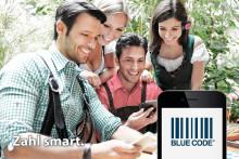 Ab sofort mit Blue Code auf der Wiesn bargeldlos zahlen