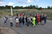 Eskilstuna Energi och Miljö har nu tagit det första spadtaget för Eskilstunas Kretsloppspark