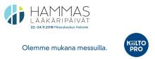 Kiilto mukana Hammaslääkäripäivillä 22.-24.11.2018