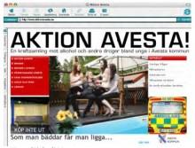 Aktion Avesta öppnar egen hemsida för vuxna