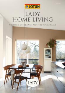 LADY Home Living, Jotun Färgkarta