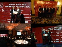 Evorich Flooring Group at the Southeast Asia Property Awards 2012