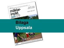 Uppsala län: Stabil och optimistisk bostadsmarknad i Uppsala