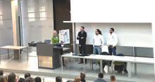 Merian-Oberschule aus Berlin-Köpenick eröffnet seine Wissenschaftswoche an der TH Wildau