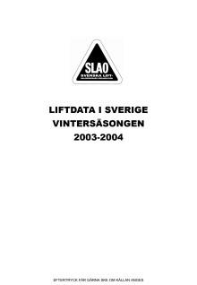 Skiddata 2003-2004