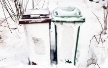 Fastfruset avfall i Kävlinge