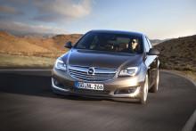 Nya Opel Insignia: motor- och infotainmentrevolution