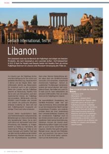 Gerlach im Libanon: Am liebsten mit Eukalyptus und Lavendel