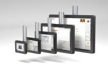 B&R presenterar ultratunna Power Panels för svängarmsystem