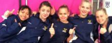 Stor framgång för svenska junior-EM-laget i kvinnlig artistisk gymnastik och individuell finalplats för Emma Larsson