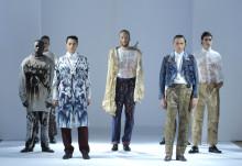 Hyllad examensvisning till London Fashion Week