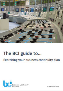 The BCI guide to… exercising your business continuity plan