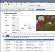 PDM-Software PRO.FILE mit neuer CAD-Integration für Autodesk AutoCAD Plant 3D