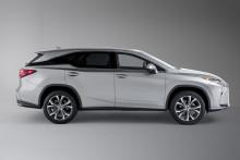 Lexus RX kommer som 7-seter