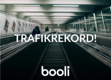 Nytt trafikrekord på Booli.se