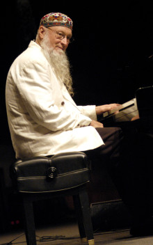 Terry Riley 75th birthday - minimalismens mästare tillsammans med Talvin Singh och George Brooks.