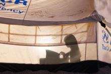 Solenergipark skapar trygghet för 20 000 flyktingar