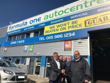 ABAX and Formula One Autocentres join forces