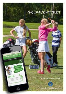 Nytt golfäventyr ska få unga att stanna längre inom golfen