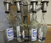 Fake vodka factory found in Liverpool