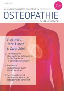 Druckfrisch: Neue Ausgabe des Osteopathie-Patientenmagazins