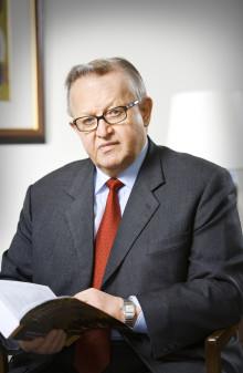 Ahtisaari årets Dag Hammarskjöldföreläsare