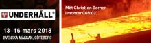 Möt Christian Berner på Underhållsmässan