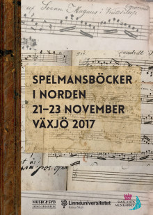 Spelmansböcker i Norden – konferens och festival i Växjö 21–23 november