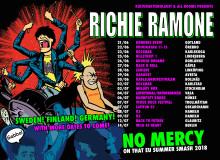 Richie Ramone är tillbaka i Europa i sommar!
