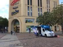 Beratungsmobil der Unabhängigen Patientenberatung kommt am 3. April nach Chemnitz.