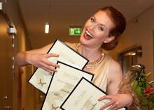 Storslam för Cornelia Beskow i internationell Wagner-tävling