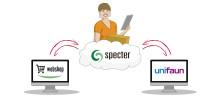 Utökad integration mellan Specters affärssystem och Unifaun