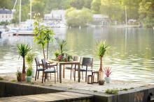 Stue uten tak. Plantasjen presenterer årets utemøbler