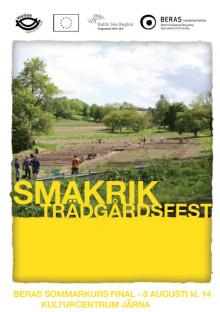 Smakrik trädgårdsfest, Vita Huset vid Kulturcentrum i Järna