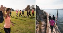 Stadig flere oppdager TanumStrand som treningsanlegg
