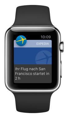Expedia App jetzt für die Apple Watch erhältlich