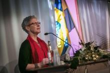 Hon blev årets pedagogiska pristagare på Högskolan Väst